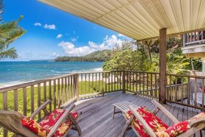 Kauai County Single Family Home For Sale: 5-6898 Kuhio Hwy