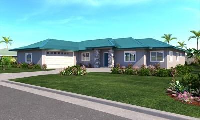 Lihue Single Family Home For Sale: 4308 Kauila St