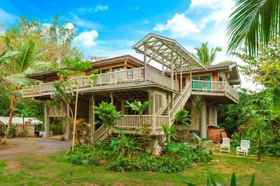 Hanalei Single Family Home For Sale: 5-7218 Kuhio Hwy