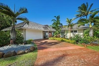 Princeville Single Family Home For Sale: 3559 Kaweonui Rd