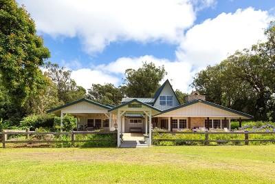 Waimea, Kamuela Single Family Home For Sale: 64-5089 Puu Manu Pl
