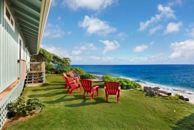 Kauai County Single Family Home For Sale: 960 Niulani Rd #1 and 2