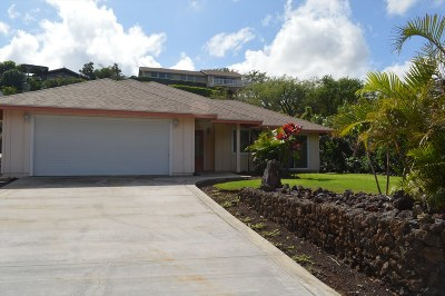 Waikoloa Single Family Home For Sale: 68-1852 Puu Nui St