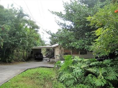Kailua-Kona Single Family Home For Sale: 73-1130 Ahulani St