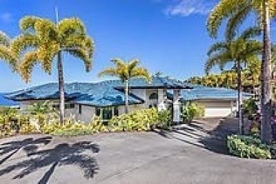 Kailua-kona Single Family Home For Sale: 78-6880 Keaupuni St