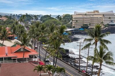 Kailua-Kona Condo For Sale: 75-5782 Kuakini Hwy #708