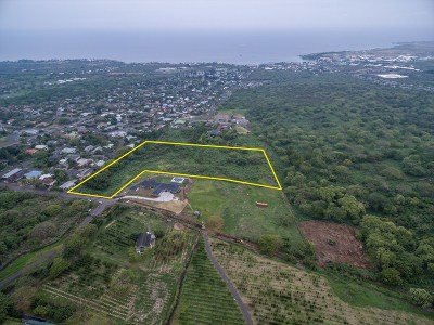 Kailua-Kona Residential Lots & Land For Sale: 75-5464 Hienaloli Rd.