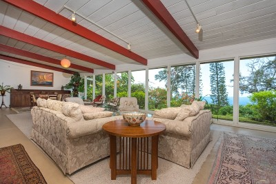Holualoa Single Family Home For Sale: 78-6646 Mamalahoa Hwy