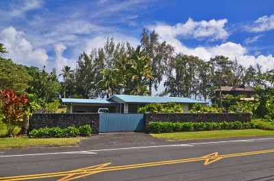 Hilo Single Family Home For Sale: 2045 Kalanianaole St