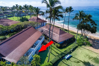 Kauai County Condo/Townhouse For Sale: 2253 Poipu Rd #188