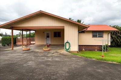 Hawi, Kapaau Single Family Home For Sale: 53-3991 Kii Pl #A