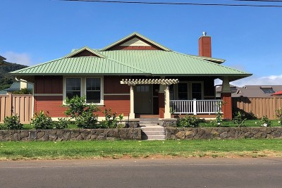 Waimea, Kamuela Single Family Home For Sale: 65-1270 Lindsey Rd.