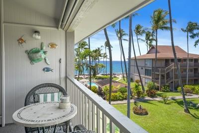 Kailua-Kona Condo For Sale: 75-6100 Alii Dr #C35