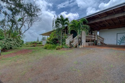 Kauai County Single Family Home For Sale: 4594-A Kamalomaloo Pl