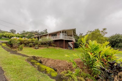 Captain Cook Single Family Home For Sale: 81-1062 Keopuka Hgts Rd