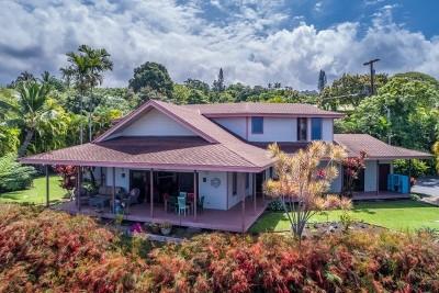 Kailua-kona Single Family Home For Sale: 75-676 Kuahiwi Pl