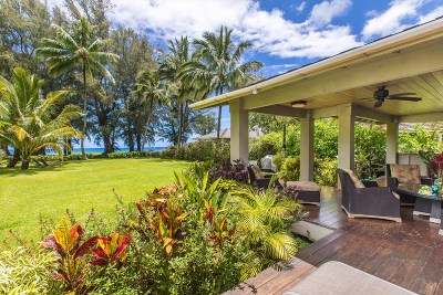 Hanalei Single Family Home For Sale: 5462 Weke Rd