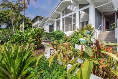 Kailua-kona Single Family Home For Sale: 77-6453 Marlin Rd