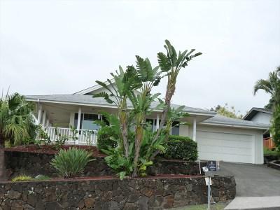 Kailua-Kona Single Family Home For Sale: 73-1305 Kaiminani Dr
