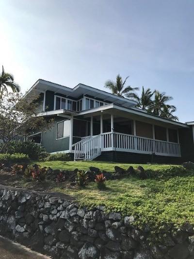 Kailua-Kona Single Family Home For Sale: 75-278 Aloha Kona Dr