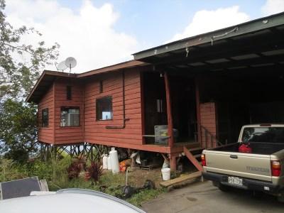 Captain Cook Single Family Home For Sale: 84-1260 Bruner Rd
