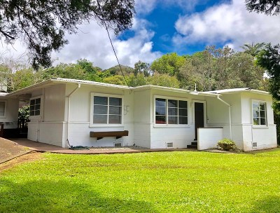 Single Family Home For Sale: 45-3657 Honokaa Waipio Rd