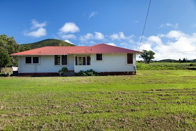 Waimea, Kamuela Single Family Home Contingent: 64-560 Mamalahoa Hwy