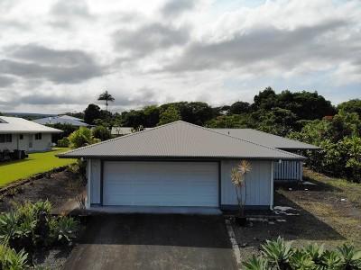 Hilo Single Family Home For Sale: 961 Komomala Dr