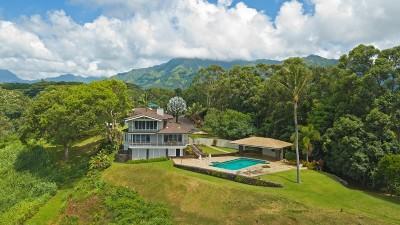 Kapaa Single Family Home For Sale: 6801-K Waipouli Road #1