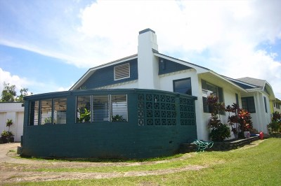 Single Family Home For Sale: 4681 Puuwai Rd
