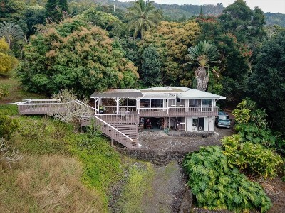Captain Cook Single Family Home For Sale: 83-5621 Hawaii Belt Rd