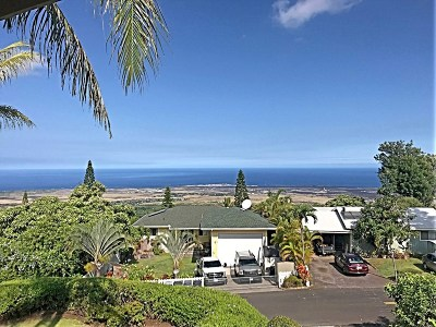 Kailua-Kona Single Family Home For Sale: 73-1182 Mahilani Dr