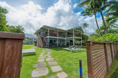 Hanalei Single Family Home For Sale: 5380 Weke Rd