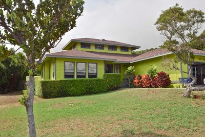 Waimea, Kamuela Single Family Home For Sale: 62-2054 Mahua St