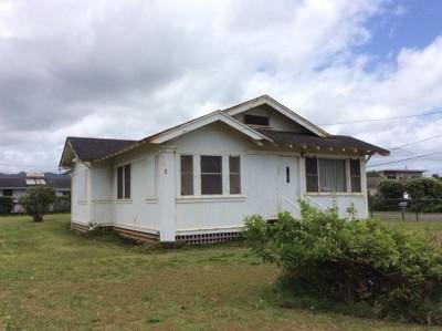 Kapaa Single Family Home For Sale: 1093 Kealoha Rd