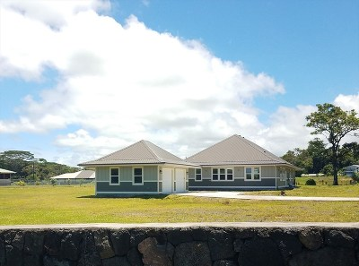 Hilo Single Family Home For Sale: 1955 Mohouli Street