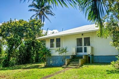 Hawi, Kapaau Single Family Home For Sale: 55-513-G Hawi Road