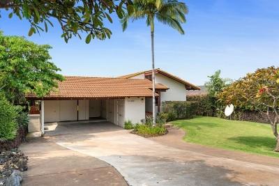Kailua-Kona Single Family Home For Sale: 73-1182 Ala Kapua St