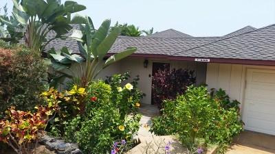 Kona Vistas Subdiv Single Family Home For Sale: 76-6366 Kilohana St