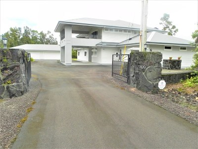 Hilo Single Family Home For Sale: 420 Kipuni St
