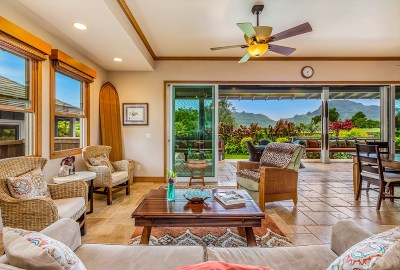 Lihue Single Family Home For Sale: 4347-A Pilimai St