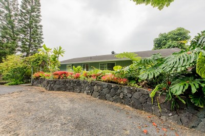 Kailua-Kona Single Family Home For Sale: 73-4540 Iki Pl