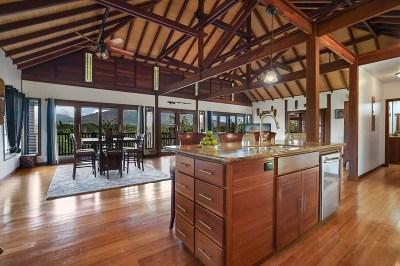 Kapaa Single Family Home For Sale: 568-U Kamalu Rd