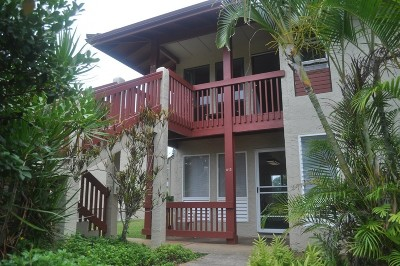 Kauai County Condo/Townhouse For Sale: 4461 Kamoa Rd #A12