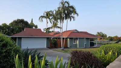 Kailua-Kona Single Family Home For Sale: 75-278 W Kawena Pl