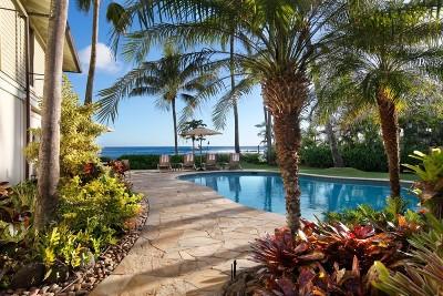 Poipu Single Family Home For Sale: 4820 Lawai Rd