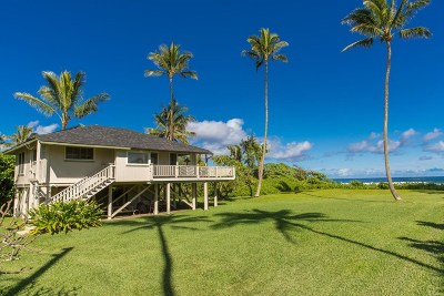 Hanalei Single Family Home For Sale: 7206 Alamoo Rd