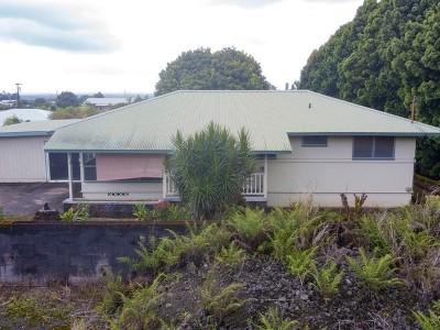 Hilo HI Single Family Home For Sale: $256,700