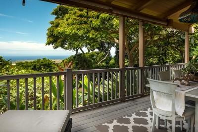Holualoa Single Family Home For Sale: 75-786 Hiona St
