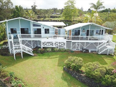 Captain Cook Single Family Home For Sale: 88-1525 Ala Pakaua Rd